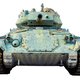 Isolated US Army WWII Tank - PhotoDune Item for Sale