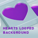 Hearts Looped Background - VideoHive Item for Sale