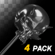 Magic Key - III - Iron Skull - Pack of 4 - VideoHive Item for Sale