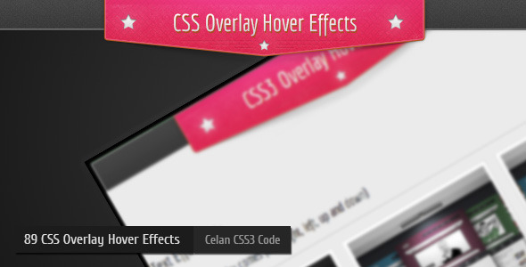 CSS3 Overlay Hover Effects Vol:1 - Css Overlay Hover Effects