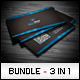 Business Cards Bundle #3 - GraphicRiver Item for Sale
