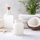 Spa setting with coconut products - PhotoDune Item for Sale