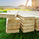 Tongue and groove pine boards. - PhotoDune Item for Sale