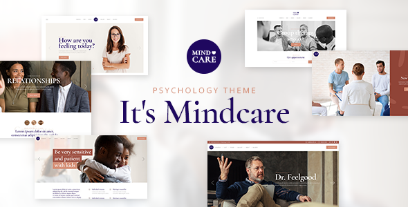 MindCare - Psychology and Counseling Theme