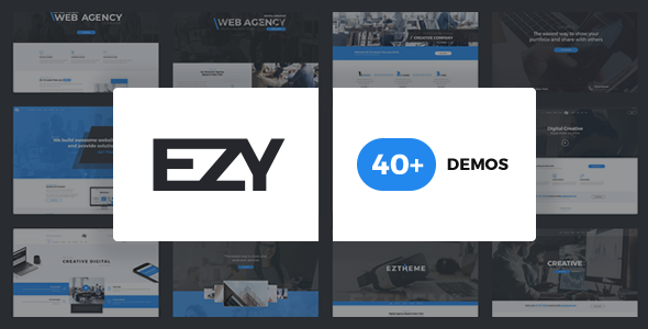 EZY - Responsive Multi-Purpose WordPress Theme