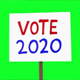 2020 Candidates Election Signs Green Screen - VideoHive Item for Sale