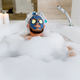 Man applies face mask and relax in bath with foam - PhotoDune Item for Sale