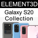 Element3D - Samsung Galaxy S20 Collection
