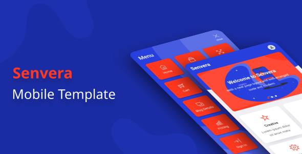 Senvera - Mobile Template by aStylers
