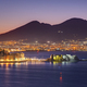 View over the Gulf of Naples before sunrise - PhotoDune Item for Sale
