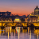 The Tiber river and St. Peters Basilica - PhotoDune Item for Sale