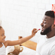 African father and preschool daughter having fun together - PhotoDune Item for Sale