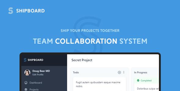 Shipboard - Team Collaboration System