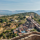 Temples and houses inside Kumbhalgarh fort. Rajasthan, India - PhotoDune Item for Sale