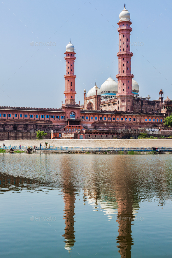 Taj-ul-Masajid the largest mosque in India. Bhopal, India - Stock Photo - Images
