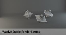 Massive Studio Render Setups