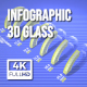 Infographic 3D Glass - VideoHive Item for Sale