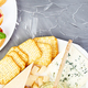 Banner of Italian antipasti wine snacks set. Antipasto catering platter - PhotoDune Item for Sale