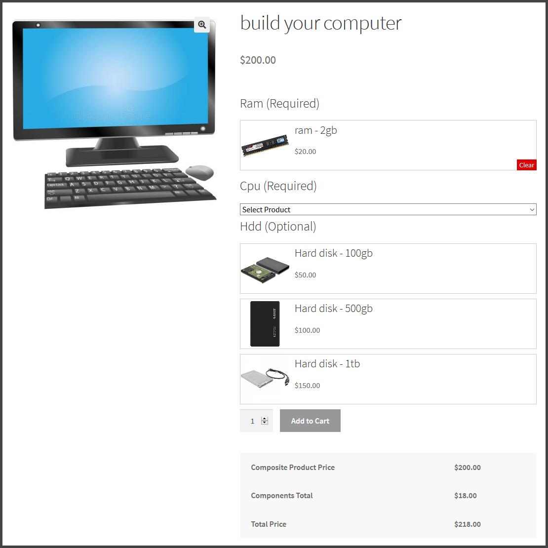 WooCommerce Composite Product Bundles Plugin - 2