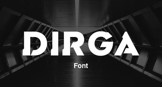 Dirga Font