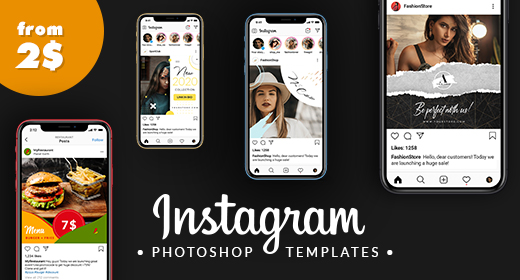 Instagram templates by Sko4