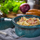 Pasta with sauerkraut and sausage. - PhotoDune Item for Sale