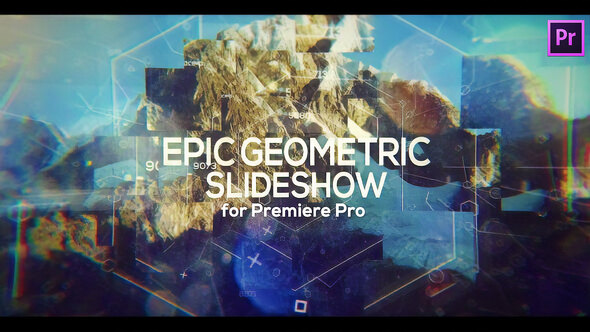 Epic Geometric Slideshow for Premiere Pro