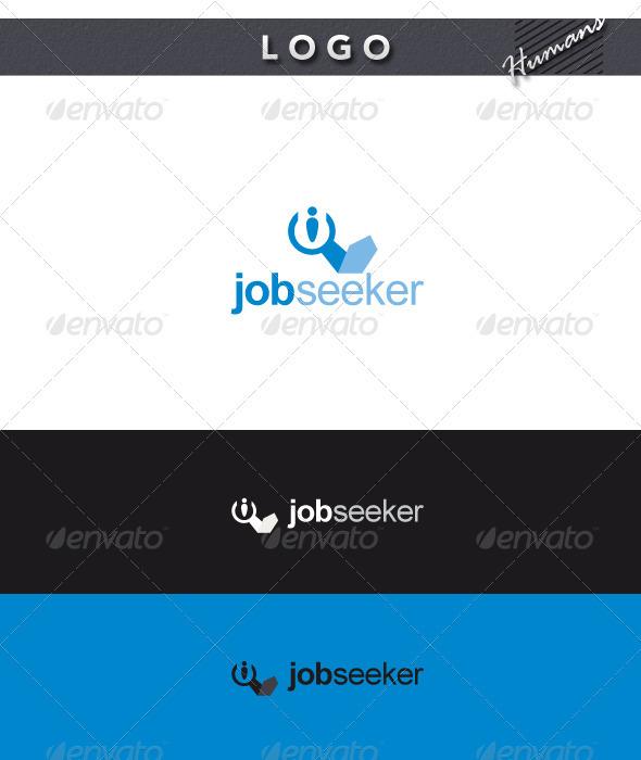 Job Seeker Logo - Humans Logo Templates