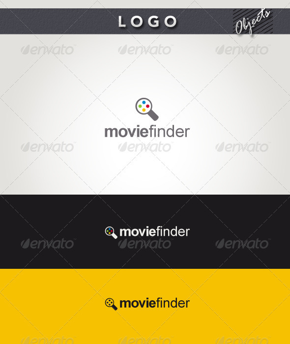 Movie Finder Logo - Objects Logo Templates