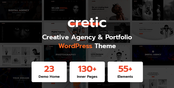 Cretic - Creative Agency WordPress Theme