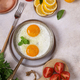 Fried Eggs with Vegetables - PhotoDune Item for Sale