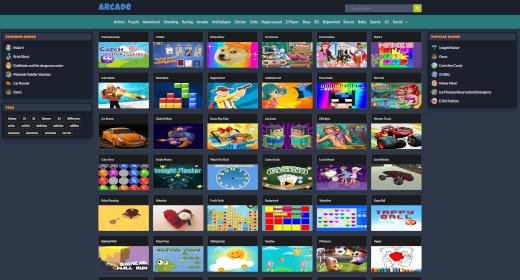 Arcade Site Script
