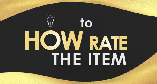 How to Rate The Item