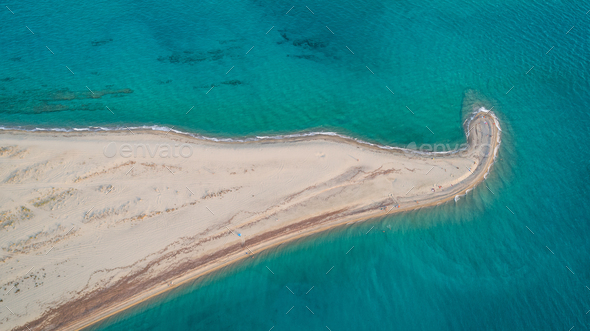 Possidi Cape beach - Stock Photo - Images