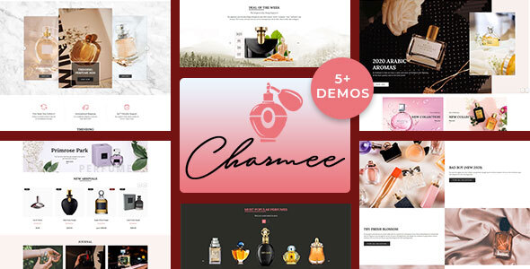 Charmee – Perfume And Cosmetics Shopify Theme