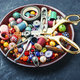 Beads,colorful beads and tools - PhotoDune Item for Sale