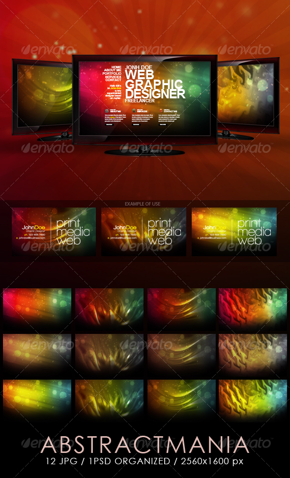Abstract Mania Backgrounds - Backgrounds Graphics