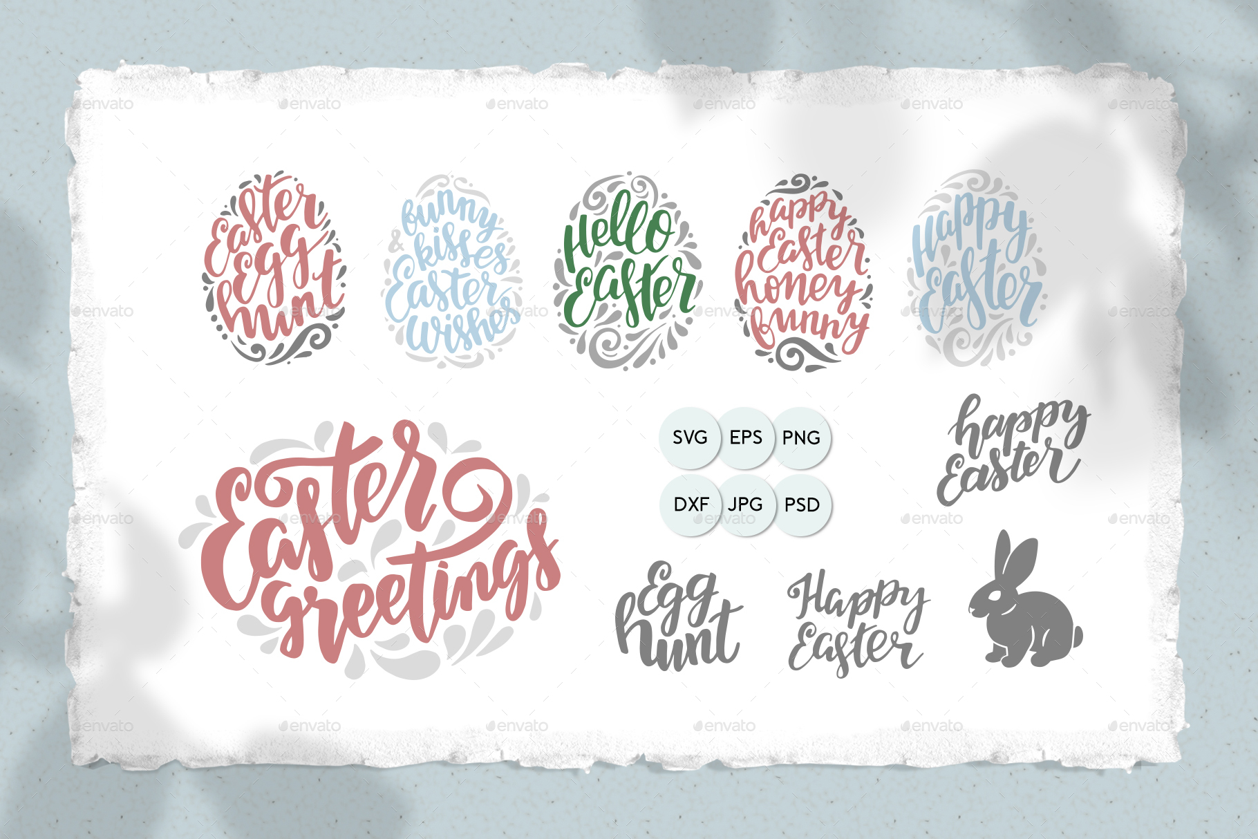 Happy Easter Svg Cut Files By Astaru Graphicriver