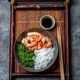 Shirataki noodles, shrimps and seaweed chuka bowl. Healthy low carbs, low calories lanch. - PhotoDune Item for Sale
