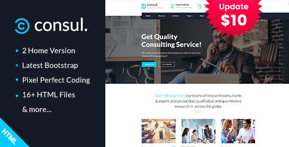 Consul - Business Consulting Services HTML Template by template_path