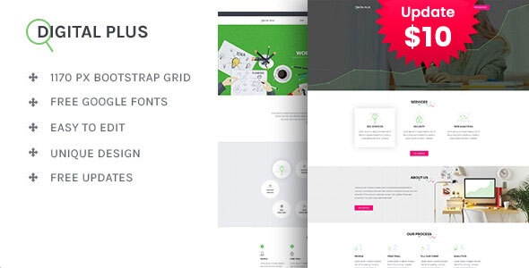 Digital Plus - SEO/Marketing HTML5 Template by template_path