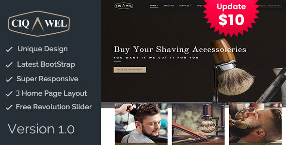 Cigawel - HTML Salon Template by template_path