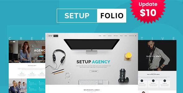 Setup Folio - Agency & Portfolio HTML Template