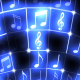 Music Notes Neon - VideoHive Item for Sale