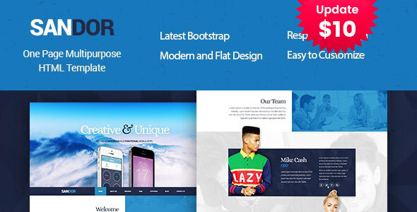 SANDOR Creative HTML Multipurpose Template by template_path