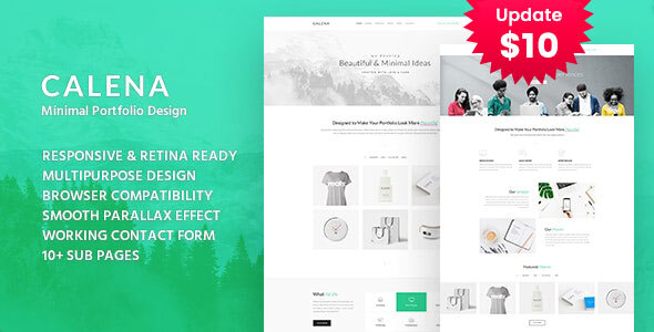 Calena - Minimal Digital Agency HTML Template by template_path