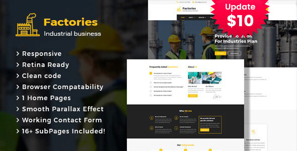 Factories - Industrial Business HTML Template by template_path