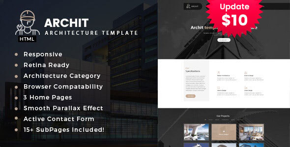 Archit - Interior and Renovation Template