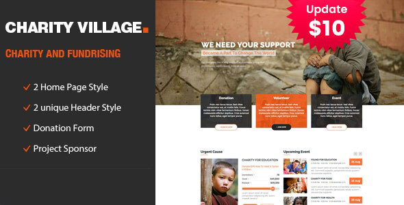 Charity Village - Responsive HTML Template for Fund Raising by template_path