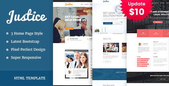 JUSTICE - Law & Business HTML Template by template_path